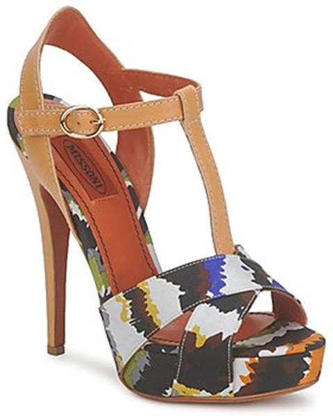 Viacfarebné sandále Missoni