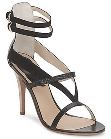 Čierne sandále Etro