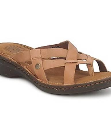 Béžové sandále UGG