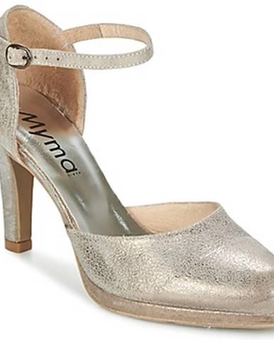 Strieborné sandále Myma