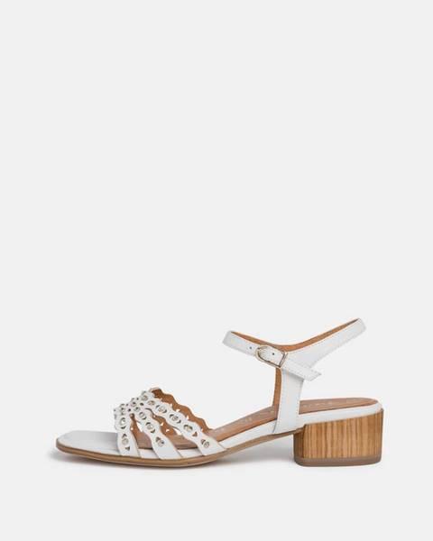 Biele topánky Tamaris