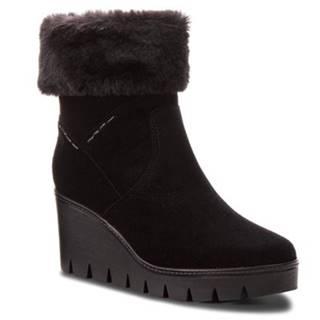 Členkové topánky Lasocki WE102 Materiał tekstylny,koža(useň) zamšová