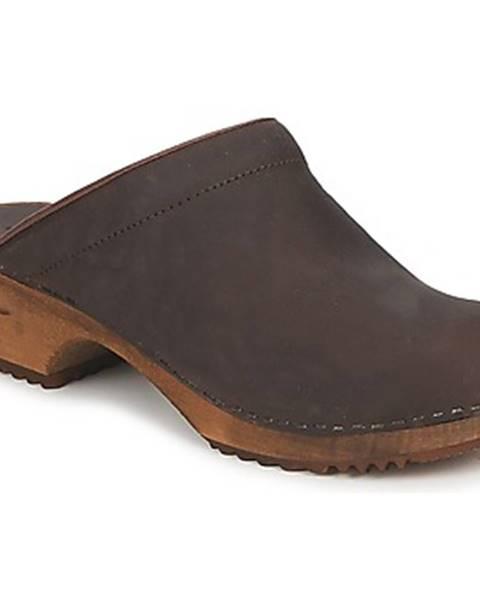 Hnedé topánky Sanita