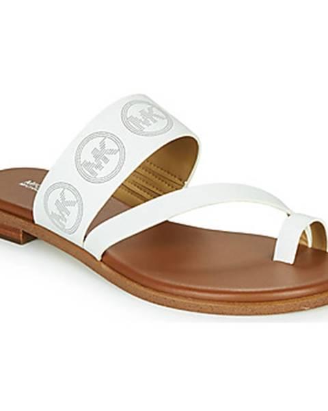 Biele sandále MICHAEL Michael Kors