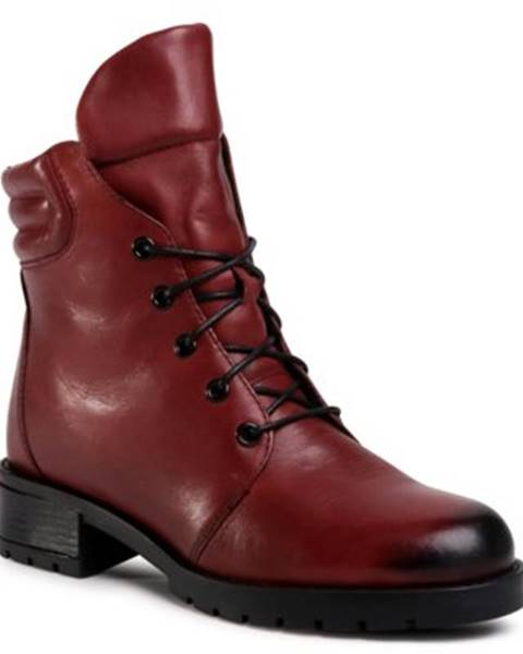 Červené topánky Lasocki