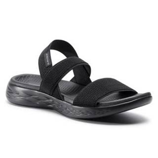 Sandále Skechers 15312 BBK Látka/-Materiál