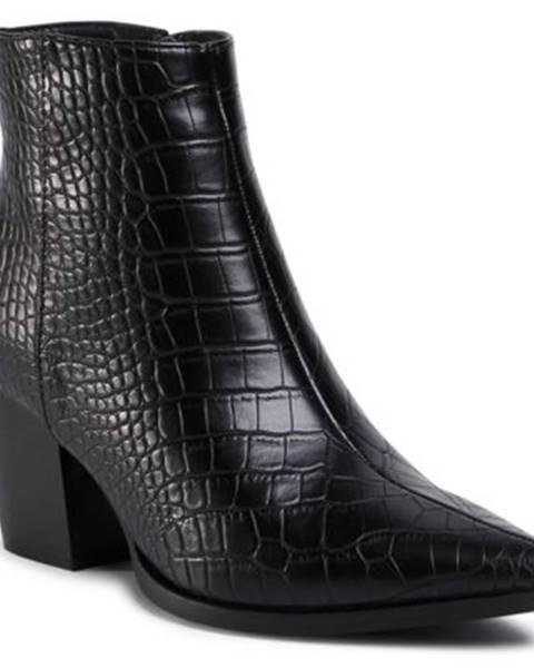 DeeZee Členkové topánky  WS19283-01 koža ekologická