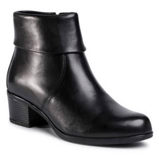 Členkové topánky  EST-GUSTA-04 koža(useň) lícová