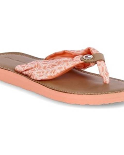 Oranžové topánky Tommy Hilfiger