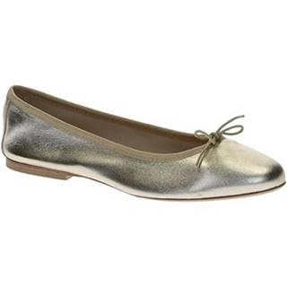 Balerínky/Babies Leonardo Shoes  6087 CUOIO NAPPA PLATINO
