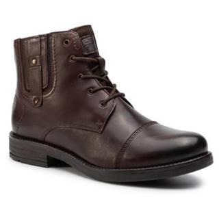 Šnurovacia obuv Lasocki for men MI08-C608-586-02 Prírodná koža(useň) - Zamš