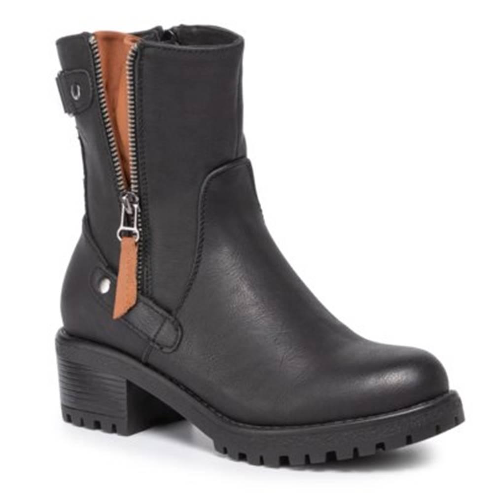 Jenny Fairy Členkové topánky Jenny Fairy WS1128-5 koža ekologická