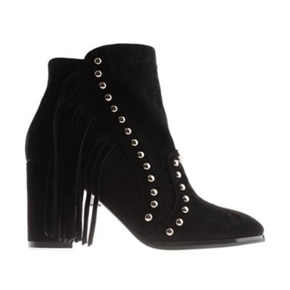 DeeZee Členkové topánky DeeZee WYL2294-1 Materiał tekstylny